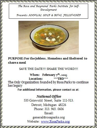 Soup and Bowl Fellowship