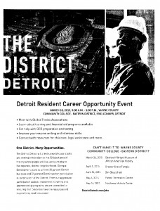 03-17-15 DETROIT CAREER OPPORTUNITY