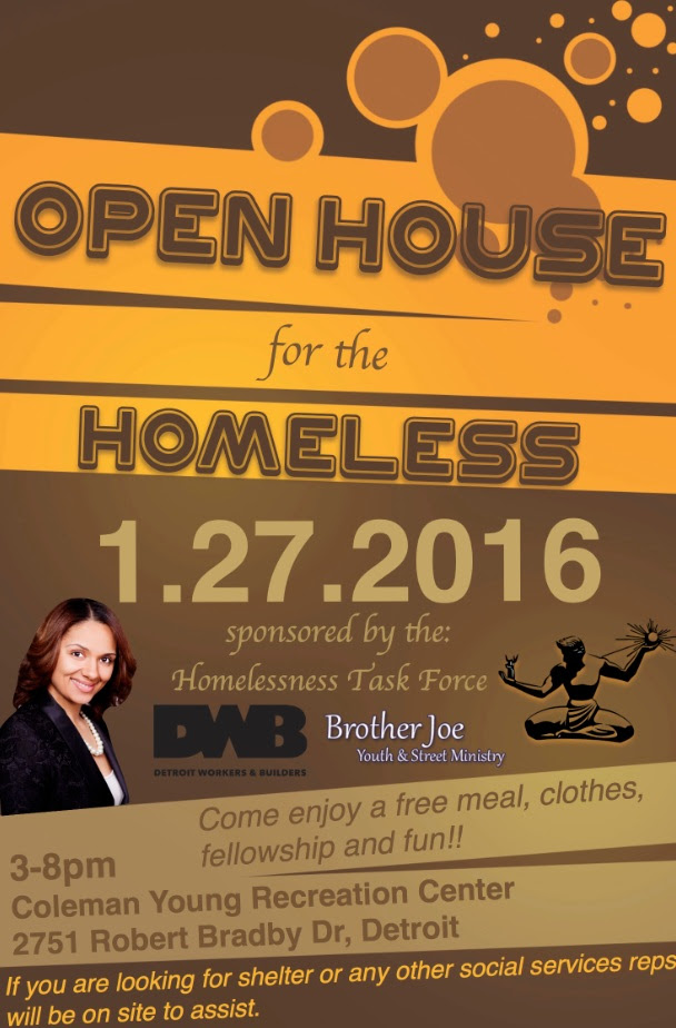 Open House for Homeless Event