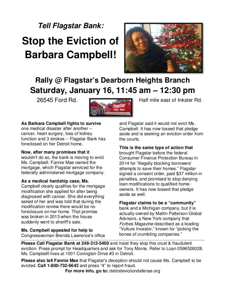 Stop The Eviction 1.16.16