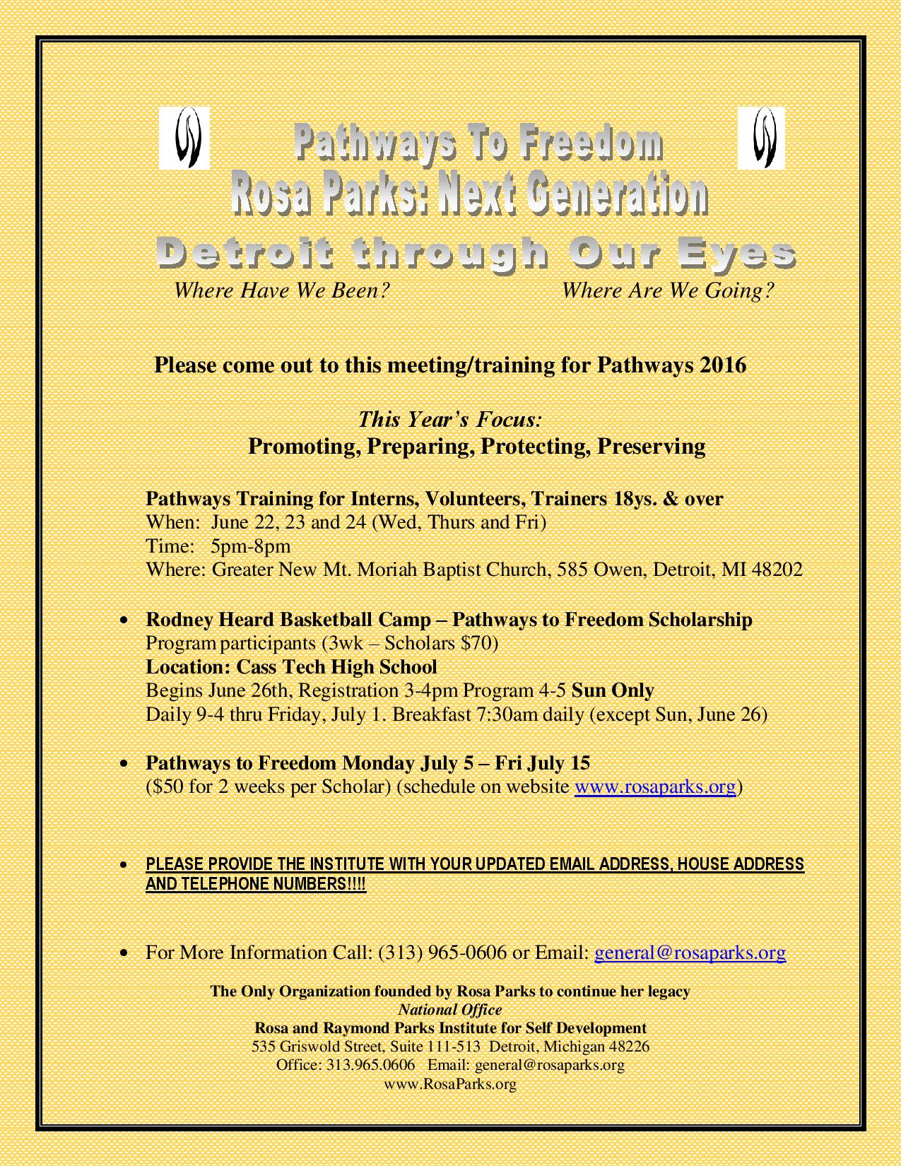 06-08-16-PWF 2016 Meeting Training Flyer II