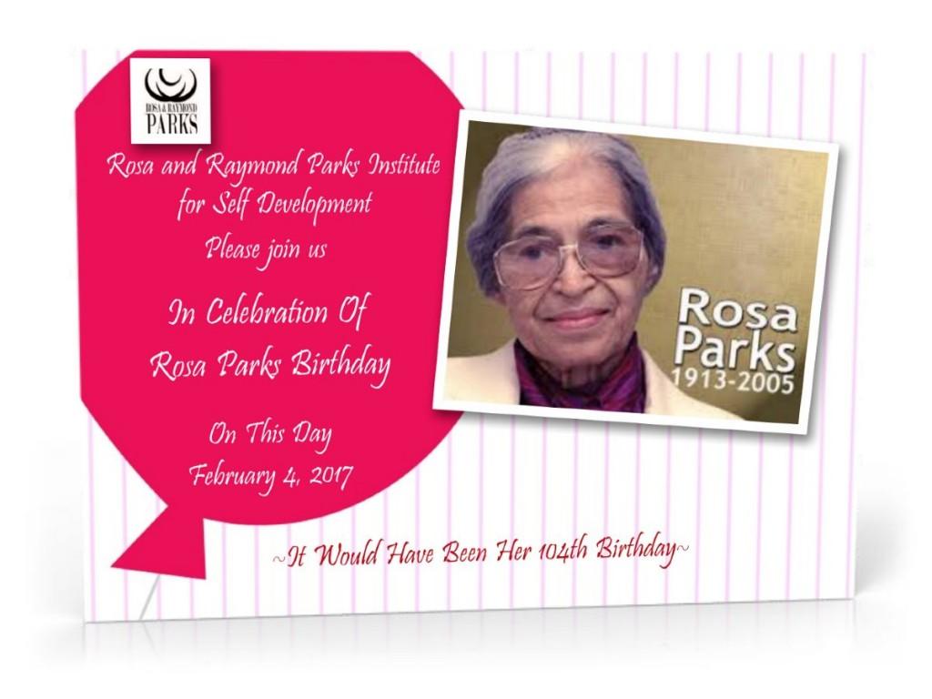 Happy Birthday Rosa Parks