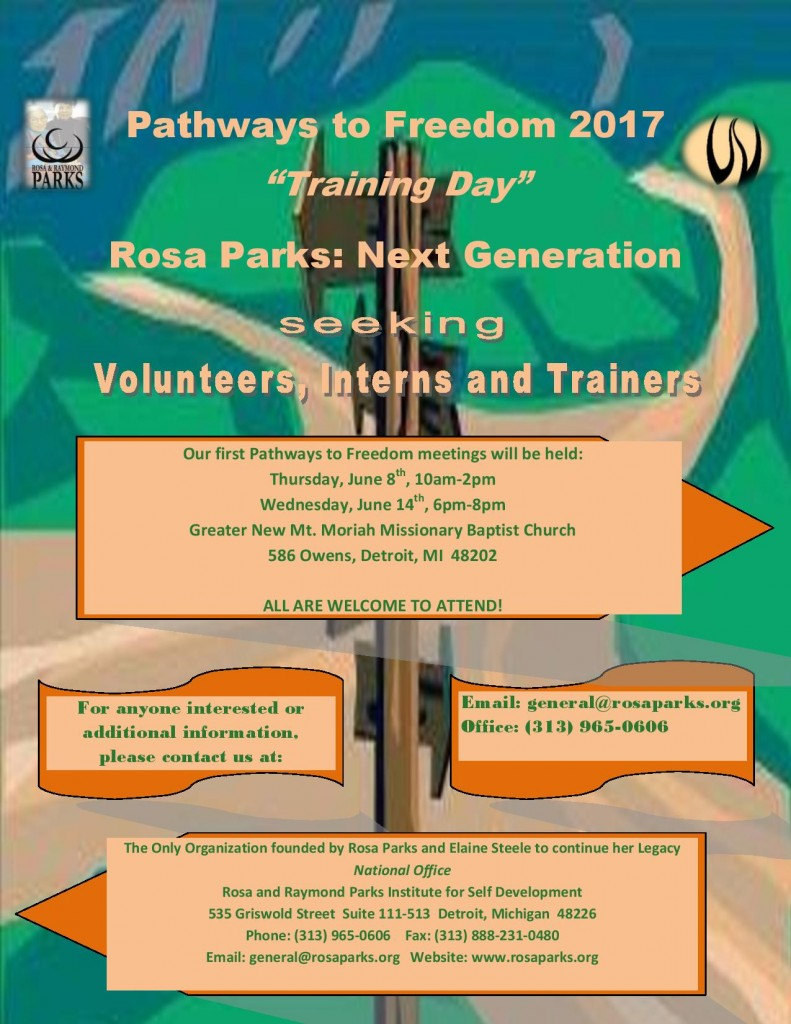 05-27-17 Volunteers, Interns and Trainers - Pathways to Freedom 2017 II