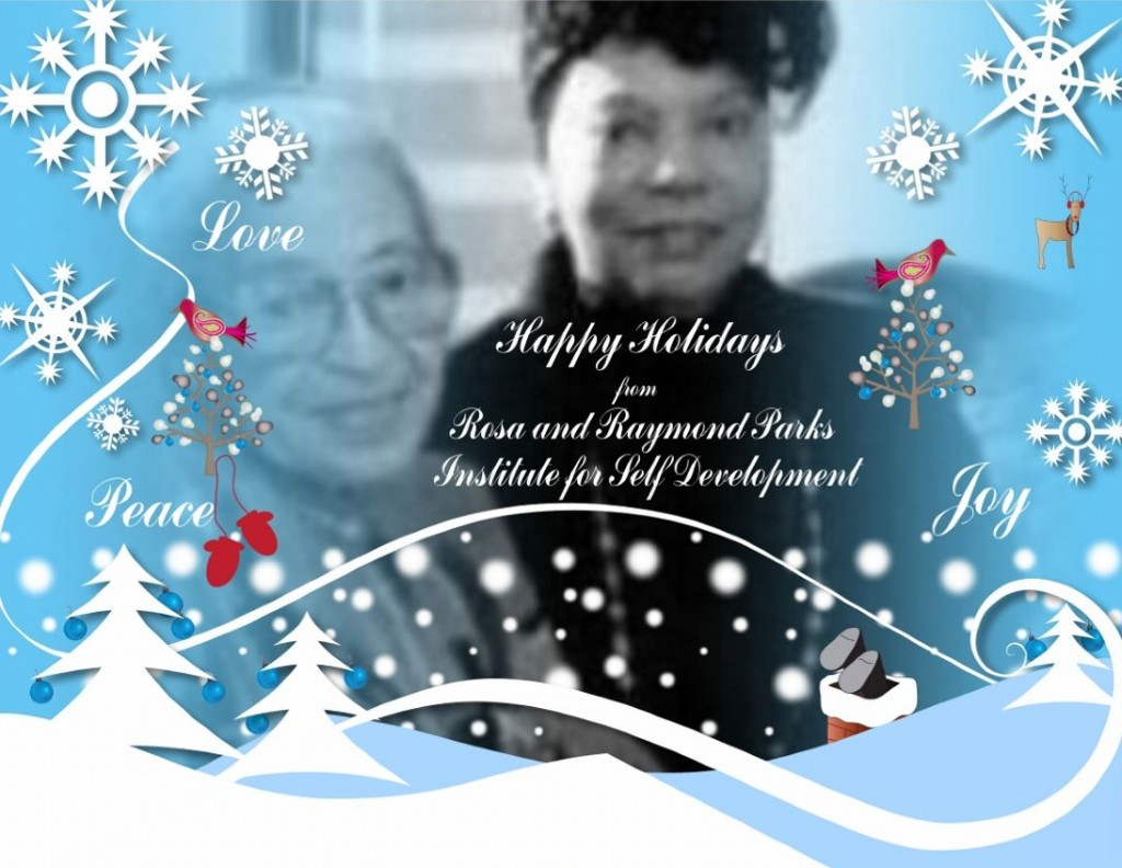 12-25-17 Ms Parks and Ms Steele Holiday Greeting