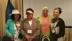 "Panelist and Trainers @ LOC for ""Training of Teachers"" Civil Rights Segment"